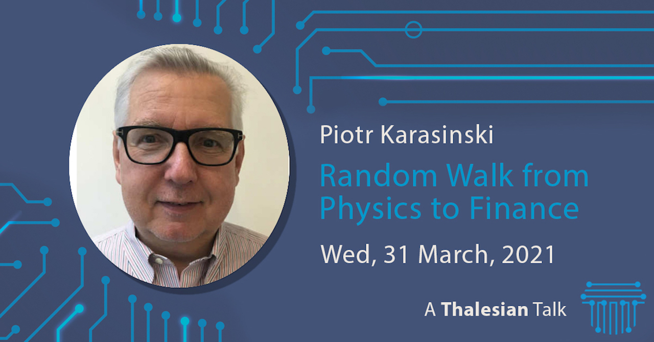 Piotr Karasinski: Random Walk from Physics to Finance