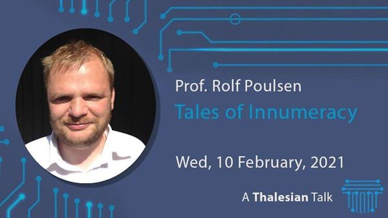 Prof. Rolf Poulsen: Tales of Innumeracy