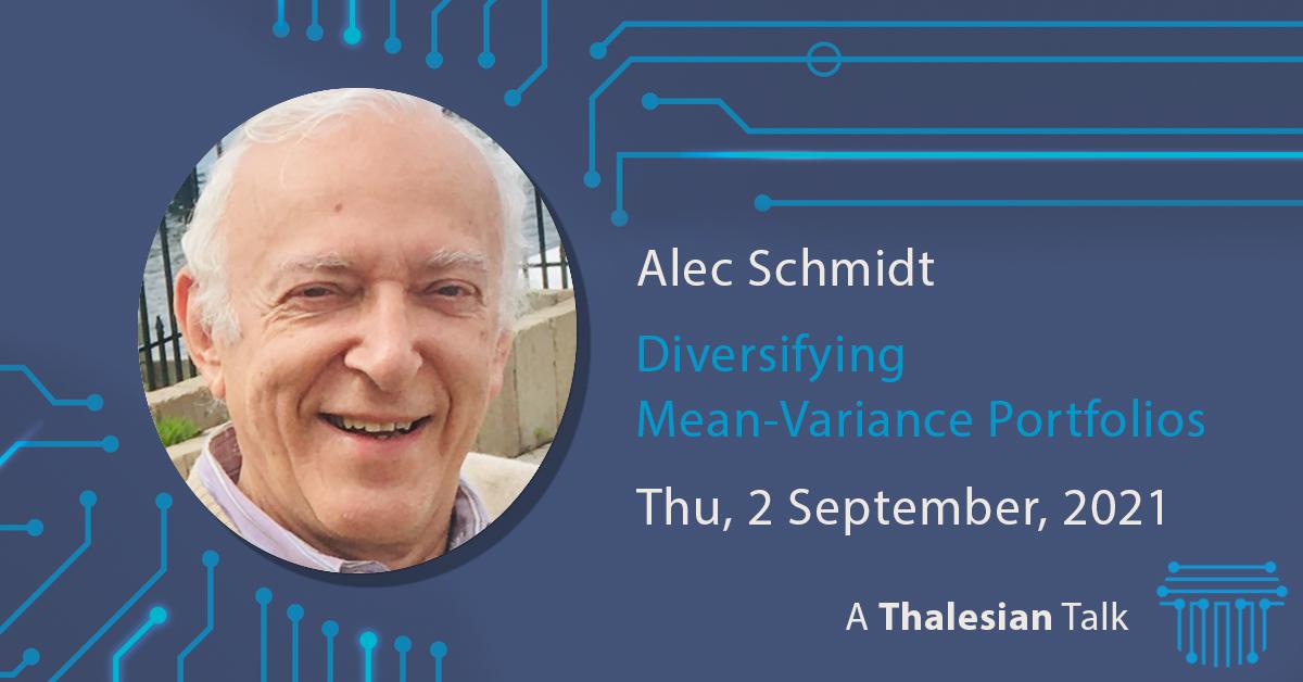 Alec Schmidt: Diversifying Mean-Variance Portfolio: Physics vs Maths